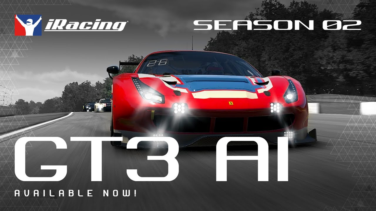 iRacing GT3 AI IS NOW Available SEASON 2