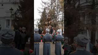 Открытие памятника военным контрразведчикам