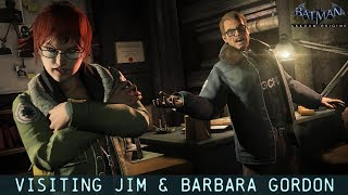 Video FR MOD; Batman; Arkham Origins; Visiting Jim & Barbara Gordon download MP3, 3GP, MP4, WEBM, AVI, FLV Agustus 2018