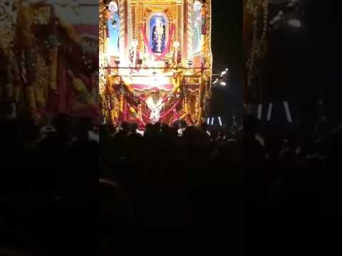 Sabah Singers While Singing in Front Of Our Golden Chariot -  2017 St.Lourdes Church, Idinthakarai