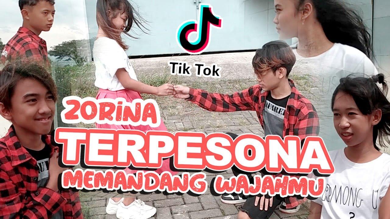 Dj Terpesona Viral Tiktok  Memandang Wajahmu Zorina Dance