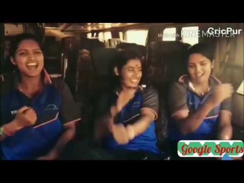 Indian Women Cricketer Top 5 FunnyDance Moments