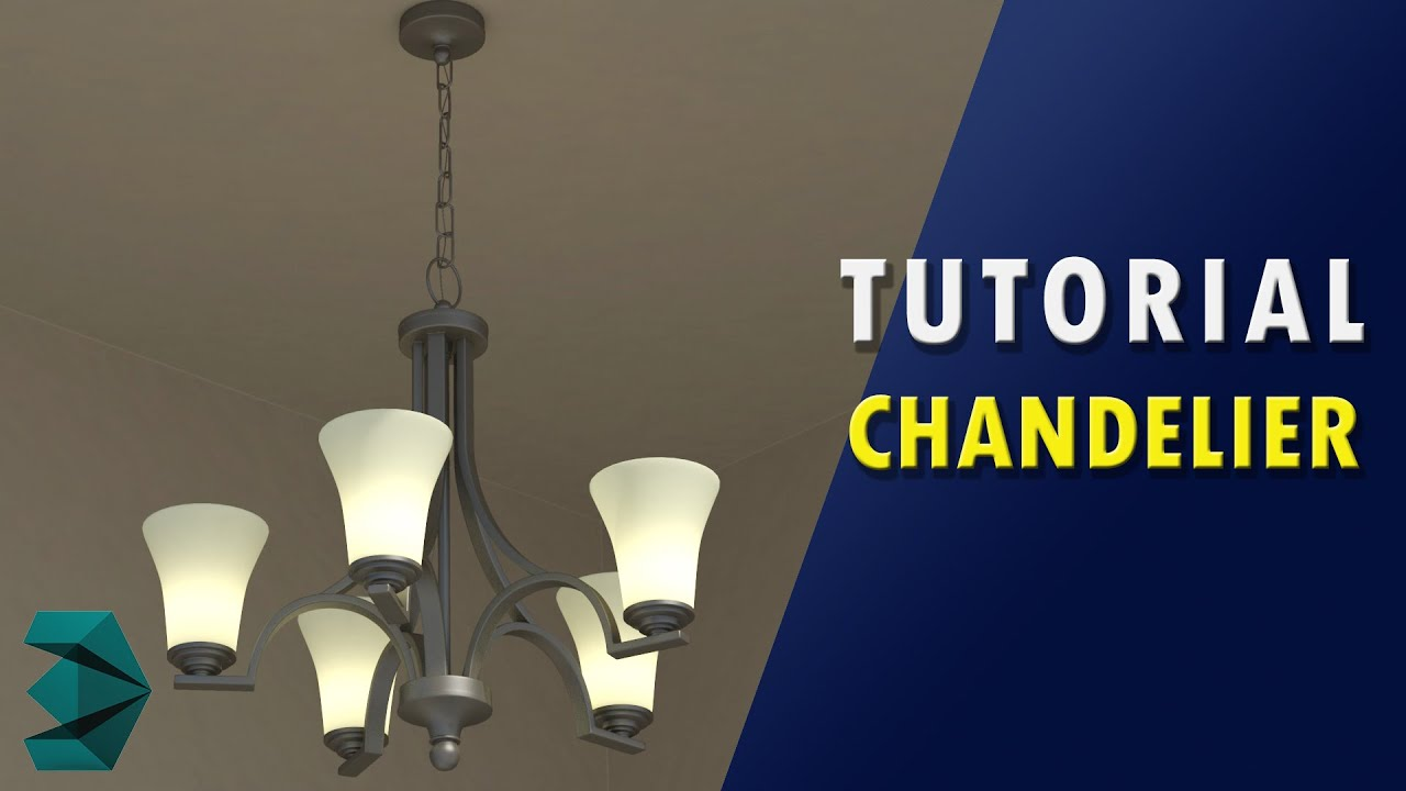 3ds Max Tutorial - Chandelier - YouTube