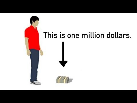 What Does One Trillion Dollars Look Like?