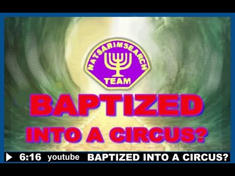 Baptized Into A Circus? #11