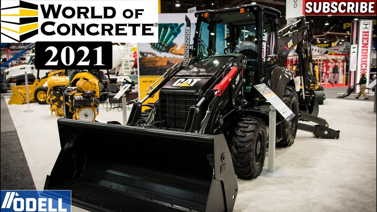 World Of Concrete 2021 Newest Equipment, Tools, and Inventions