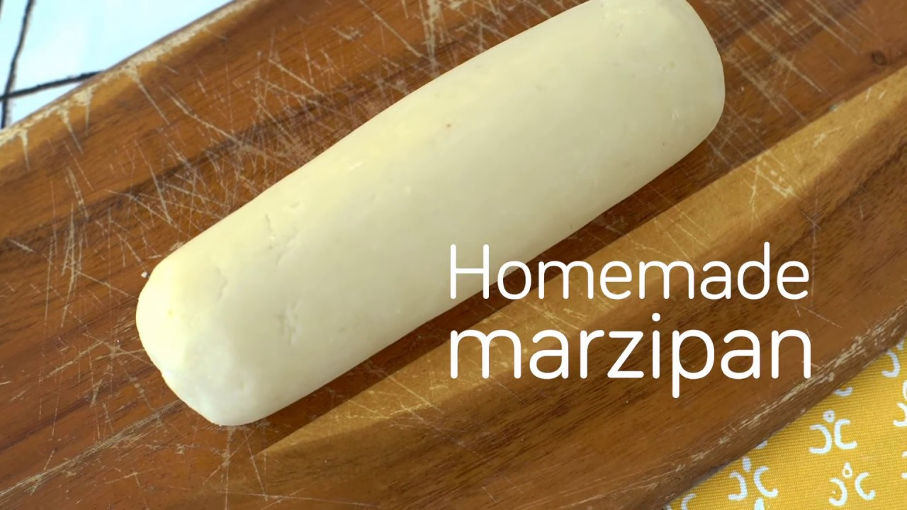 how to make marzipan at home