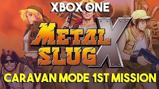 Metal Slug X - Xbox One (Caravan Mode First Mission)