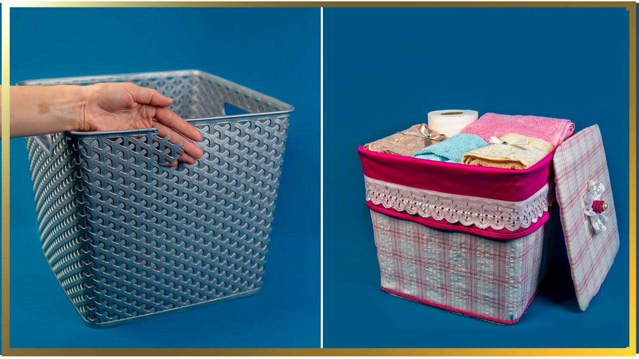 Idee de reciclare a coșului de rufe vechi spart!| Perfect