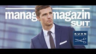 manager magazin Suit by KUHN Maßkonfektion