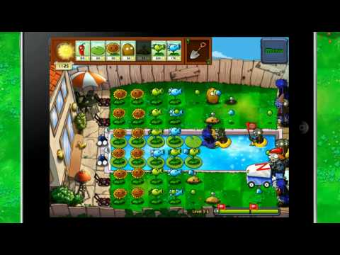 Plants Vs. Zombies HD IPad Trailer