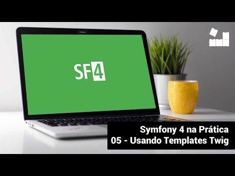 Vídeo no Youtube: [Symfony 4 na Prática | Módulo Introdutório] - 5 Usando Templates no Symfony 4