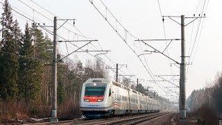 """Sm6-7054 """"Allegro"""" СПб-Хельсинки (VR) Рощино - Каннельярви"""