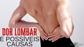 Lombar e causas região dores nas pernas de