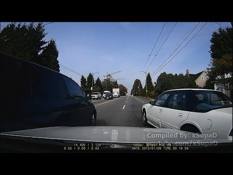 Greater Vancouver Car Crash Compilation 3