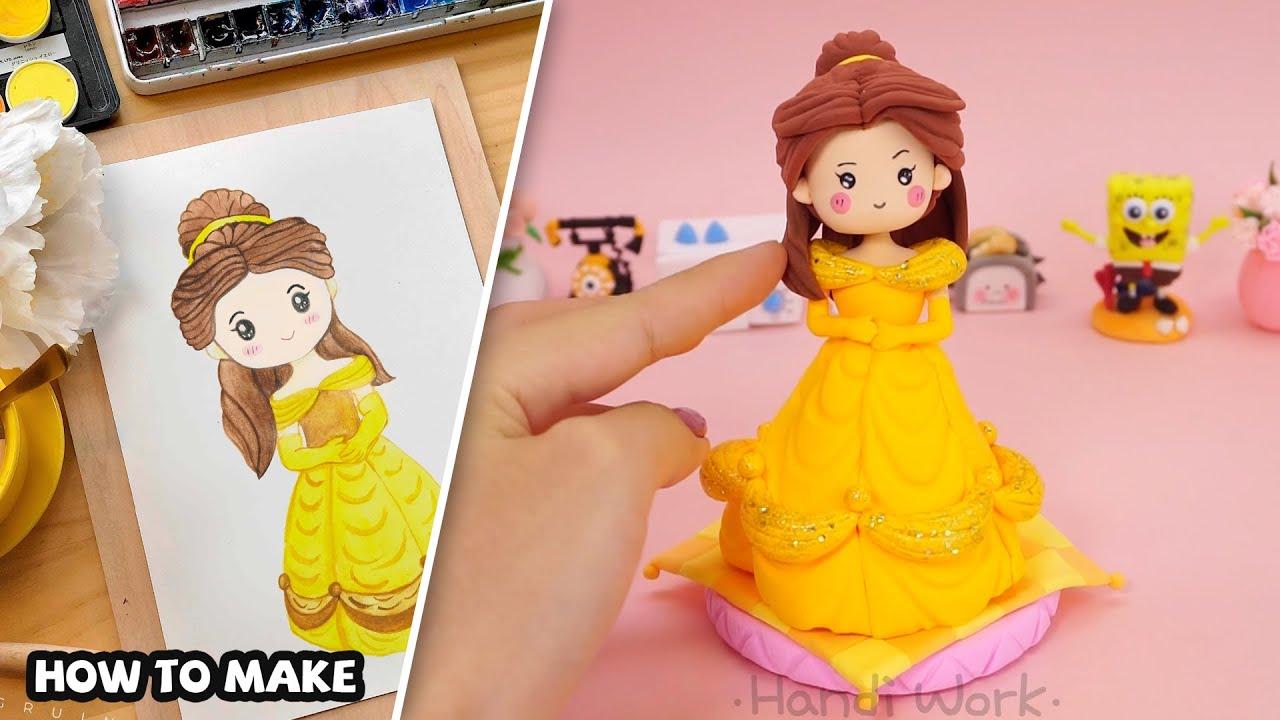 Belle Princess - How To Make | Handi Work