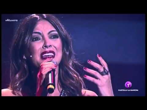"Merche - ""Eras tu"" (Sorpresa & actuación en la final de A Tu Vera, 24/04/16) thumbnail"