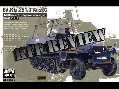AFV CLUB 1/35 Sd.Kfz. 251/3 Ausf C REVIEW