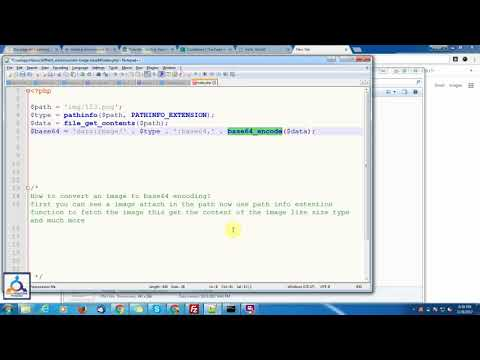How to convert an image to base64 encoding - YouTube