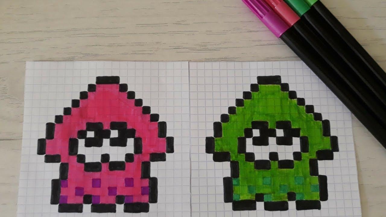 Pixel Art Splatoon