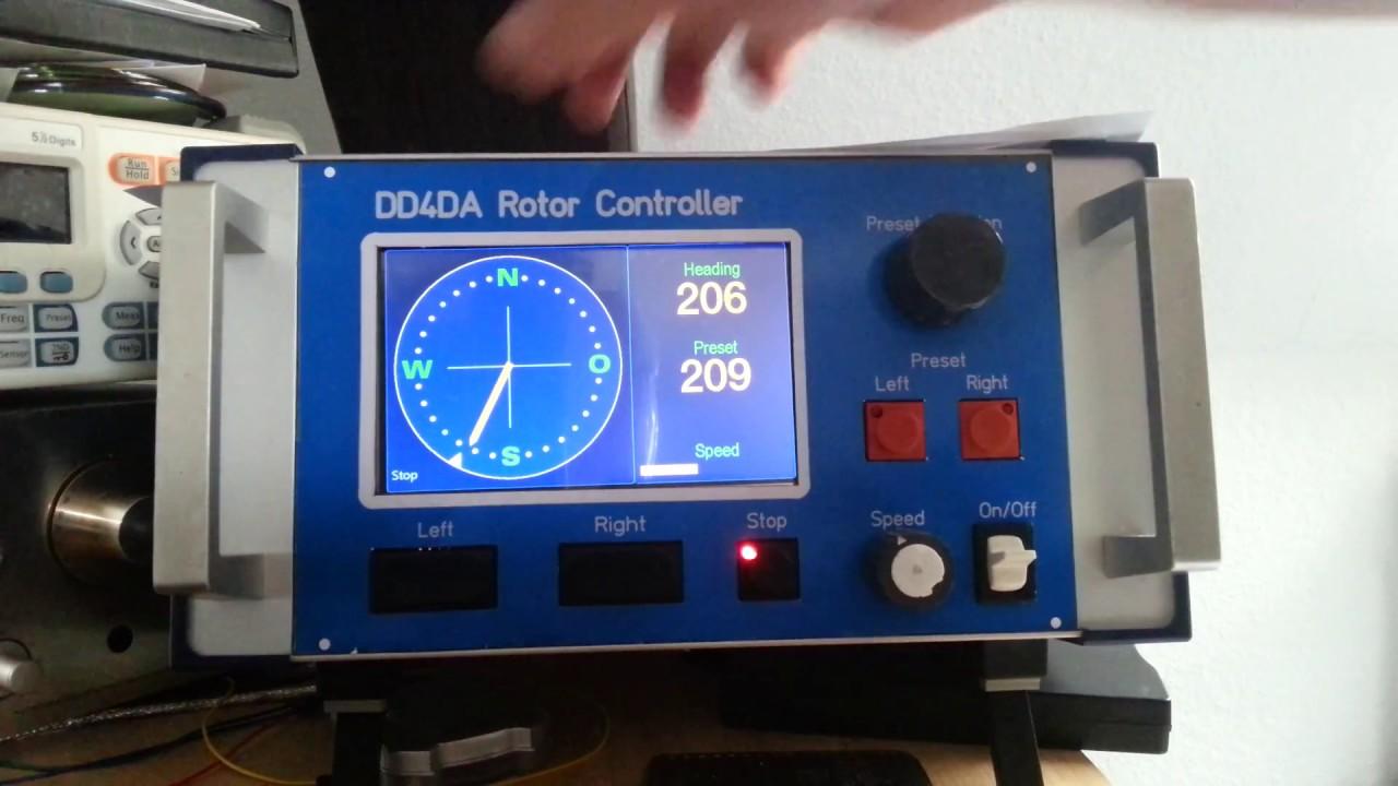 Diagram Rotator Controller