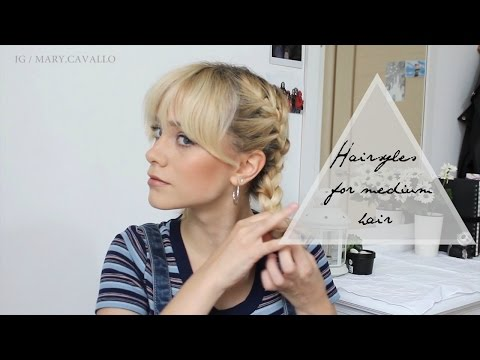 Hairstyles for medium and short hair (with bangs!) | Mary Cavallo