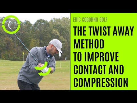 GOLF: The Twist Away Method For Better Contact And Compression