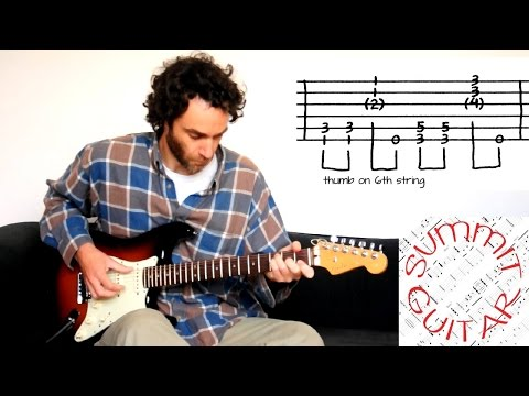 The Black Keys - Set You Free - Guitar lesson / tutorial / cover with tablature