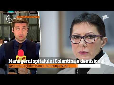 Managerul Spitalului Colentina şi-a Dat Demisia