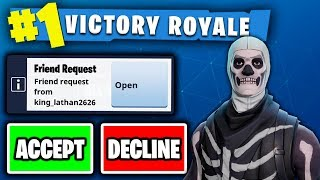 RANDOMLY FRIEND REQUESTING FANS ON FORTNITE!!! - (BEST CONSOLE BUILDER ON PS4!?)