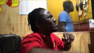 Gregory Isaacs son  kevin Isaacs  voicing  Tribute to Gregory  on mekkie back riddim