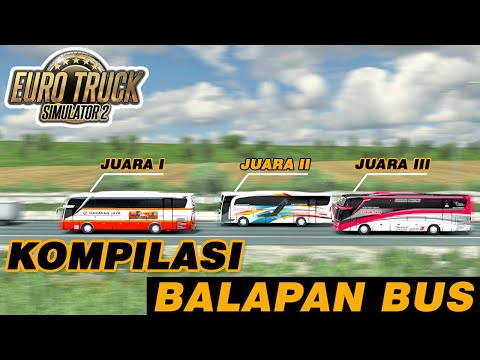 Video Kumpulan Balapan Bus Versi ETS2 Indonesia - 동영상