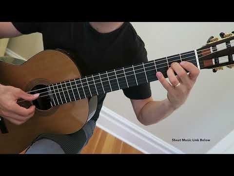 Moorish Dance by Aaron Shearer - Prep Level RCM Classical Guitar Series 2018 (Easy)
