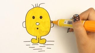 Children Drawing: Mr  Men & Little Miss Mr Quiet