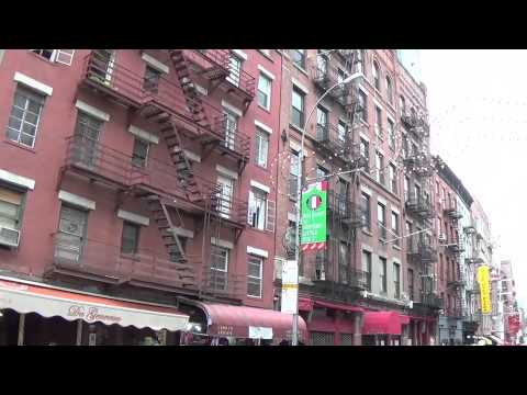 Tour of Little Italy, NYC...