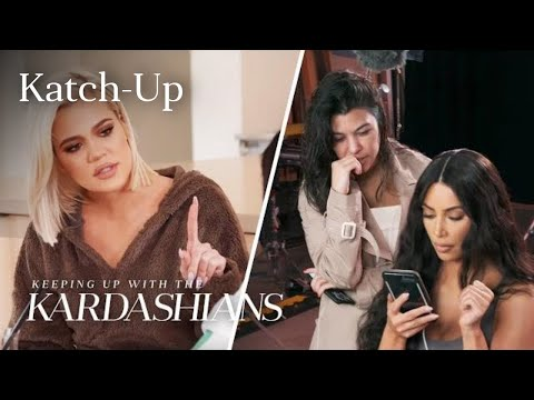 "Kardashians Piece Together Tristan & Jordyn Cheating Scandal: ""KUWTK"" Katch-Up (S16, Ep11)"