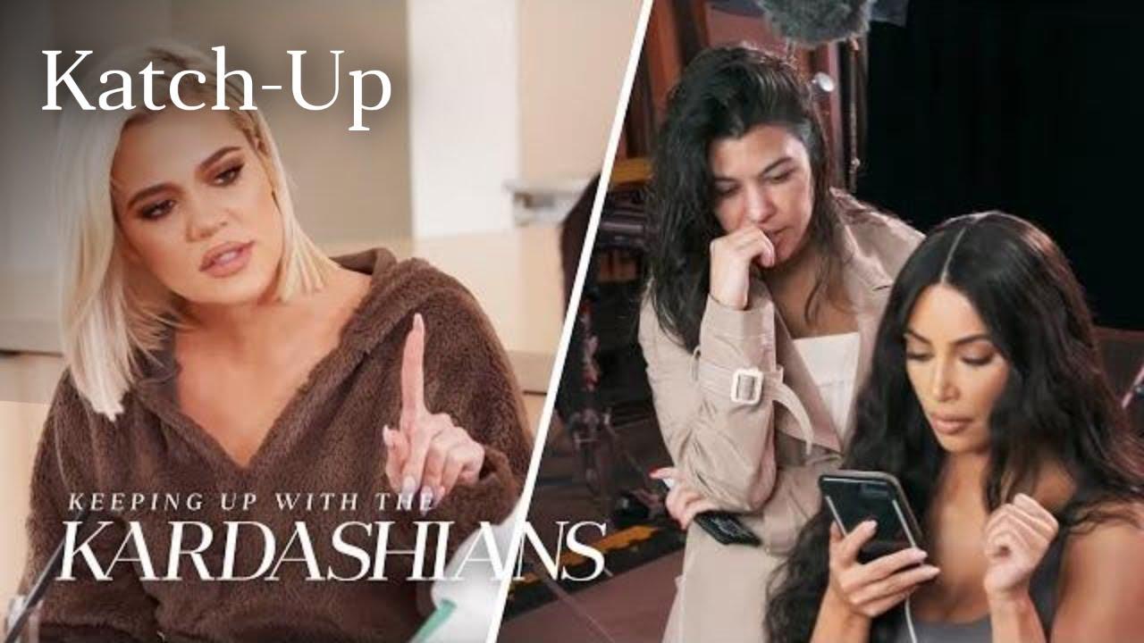 "Kardashians Piece Together Tristan & Jordyn Cheating Scandal: ""KUWTK""  Katch-Up (S16, Ep11)   E! - YouTube"