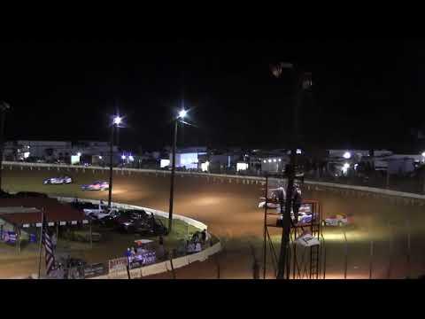 8 11 18 Earl Petty at Cherokee Motor Speedway  Renegade  Heat #2