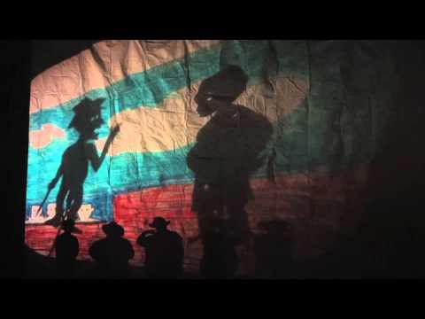 Everett Middle School's African Diaspora shadow play 2013 (excerpts)