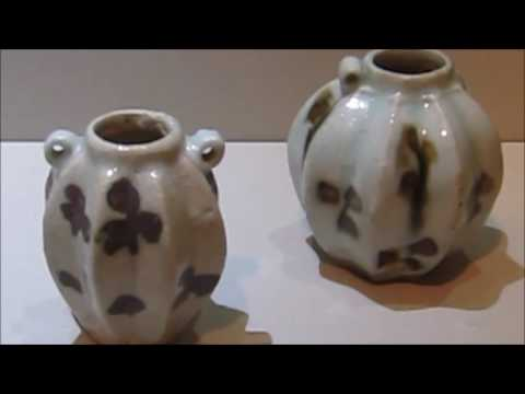 Yuan spotted qingbai wares in Singapore Asian Civilisation Museum