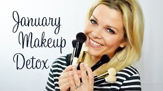How to clean brushes 3 ways - January Makeup Detox Part I Thumbnail