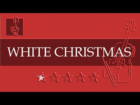 Violin & Guitar Duet - Christmas song - White Christmas (Sheet Music - Guitar Chords)