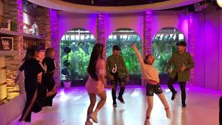 In My Feelings dance challenge by Jackque Gonzaga and Lady Pipay @ UKG