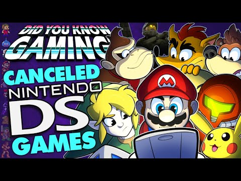 Every Cancelled Nintendo DS Game  Did You Know Gaming? Ft. Remix