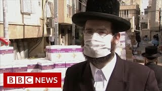 Coronavirus: Israel's ultra-Orthodox lockdown challenge - BBC News
