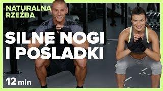 SILNE NOGI I POŚLADKI - 12 min | NATURALNA RZEŹBA | Szymon Gaś & Katarzyna Kępka