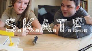 S.K.A.T.E. #1 Jeremy VS Kelsey