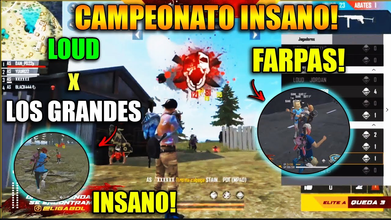 LIGA BDL - LOUD x LOS GRANDES, PAIN x CORINTHIANS - SINCE AMASSOU! AS SEGUE LÍDER! - CLIPS FF