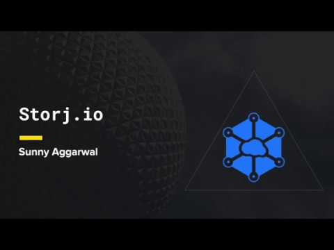Whitepaper Circle: Storj - Presented by Sunny Aggarwal