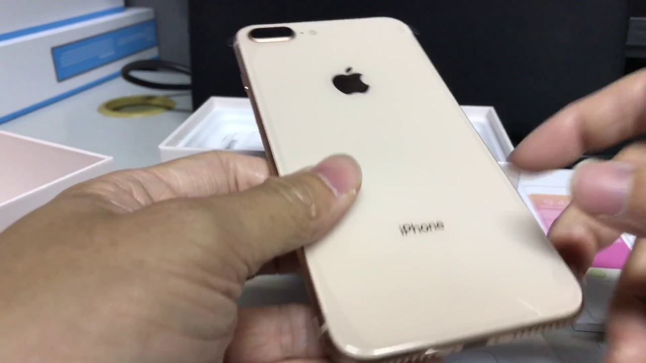 1fff3662dfc iPhone 8 Plus (Unlocked 256GB Gold) Unboxing - YouTube